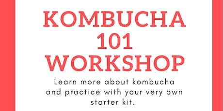 Kombucha 101 workshop tickets