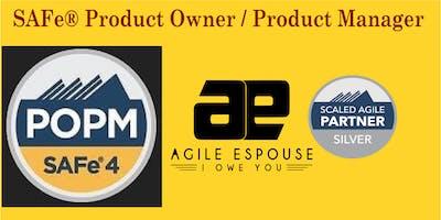 SAFe® Product Owner / Product Manager (POPM) 4.6 Workshop - Chicago, IL