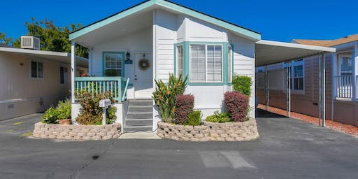 I'm hosting an open house:  1075 Space Park Way #4, Mountain View, CA