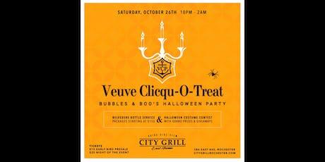 Veuve Clicqu-O-Treat [Bubbles & Boo's Halloween Party] tickets