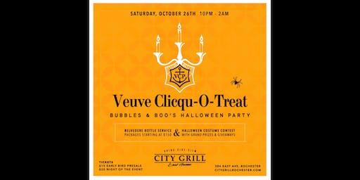 Veuve Clicqu-O-Treat [Bubbles & Boo's Halloween Party]