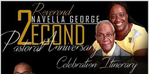 2nd Pastoral Anniversary Banquet