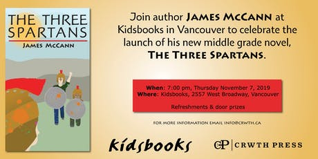 The Three Spartans Book Launch tickets