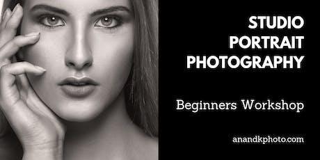 Studio Portrait Photography - Beginners Workshop tickets
