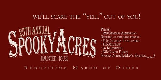 25th Annual Spooky Acres Haunted House