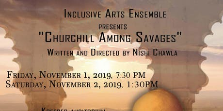 """""""Churchill Among Savages: A Play"""" tickets"""