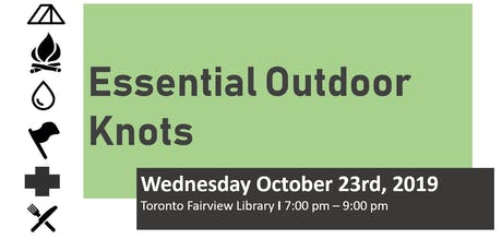 Essential Outdoor Knot Workshop tickets