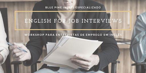 WORKSHOP Inglês para Entrevista de Emprego