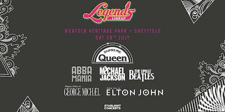 The Legends Festival  - Sheffield tickets