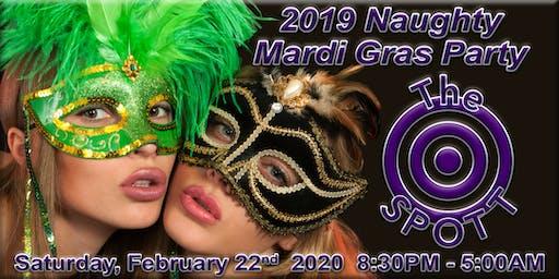Naughty Mardi Gras Party at The SPOTT