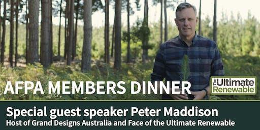 November 2019 AFPA Members dinner