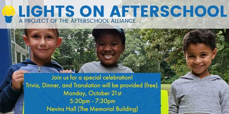 Trivia Night: a Celebration of Afterschool Programs in Framingham tickets