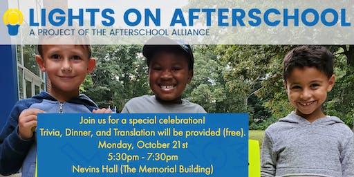 Trivia Night: a Celebration of Afterschool Programs in Framingham