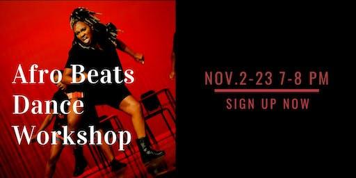 Afro Beats Dance Workshop