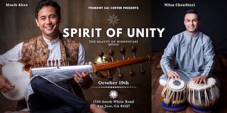 Spirit of Unity - The Beauty of Hindustani Music tickets