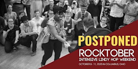 POSTPONED Rocktober Intensive Lindy Hop Weekend 2020 tickets