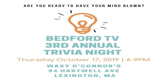 Bedford TV 3rd Annual Trivia Night