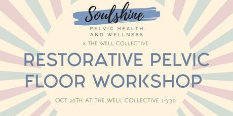 Restorative Pelvic Floor Workshop tickets