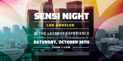 Sensi Night Los Angeles 10.26.19