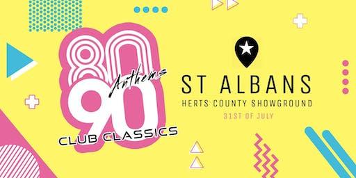 80s Anthems vs 90s Club Classics - St Albans