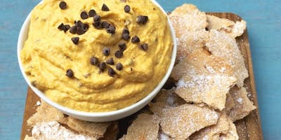Cannoli Chips with Pumpkin Mascarpone Dip