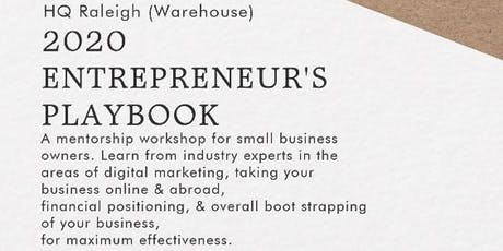 2020 Entrepreneur's Playbook, by The Shophouse Market tickets