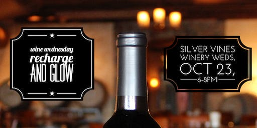Wine Wednesday Recharge and Glow Event