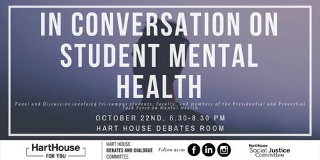 In Conversation on Student Mental Health tickets