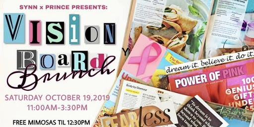 POWER OF PINK - VISION BOARD BRUNCH