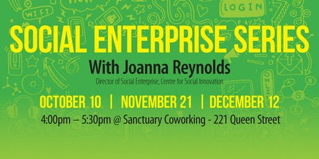 Opportunities for Social Enterprise tickets
