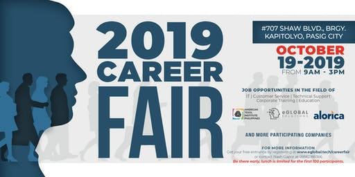 2019 eGlobal and American TESOL  Career Fair