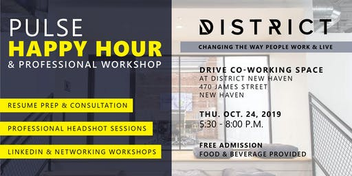 PULSE Happy Hour and Professional Workshop