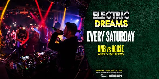 Saturday's at Electric Dreams // Level 3 Nightclubs // Nov 30th