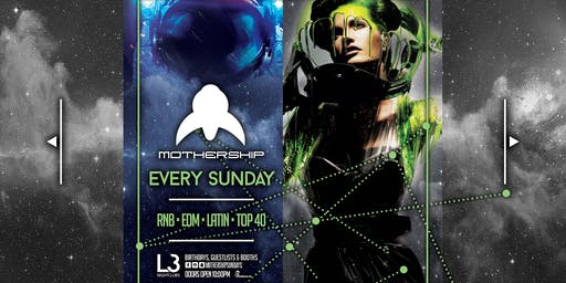 Mothership Sunday's at Crown // Level 3 Nightclubs // Nov 17th