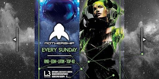 Mothership Sunday's at Level 3 Nightclubs // Feb 23rd