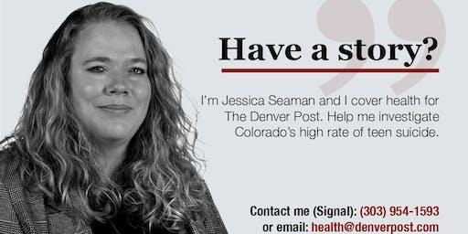 Teen mental health conversation — Pueblo