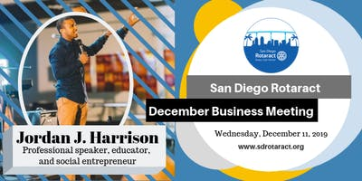 San Deigo Rotaract December Business Meeting