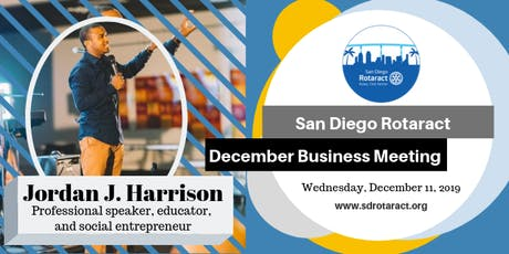 San Deigo Rotaract December Business Meeting tickets