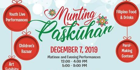 Tala Ent x B2B x Tinuno Presents: Munting Paskuhan tickets