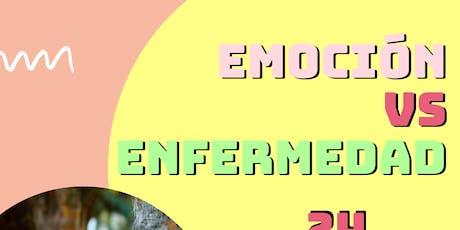 EMOCIÓN VS ENFERMEDAD entradas