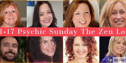 Psychic Spa Sunday The Zen Loft - November 17
