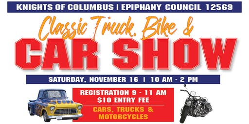 Epiphany Knights of Columbus Classic Car, Truck & Bike Show