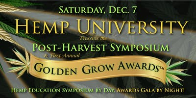 Hemp University Year-End Symposium and Golden Grow Awards Gala