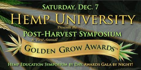 Hemp University Year-End Symposium and Golden Grow Awards Gala tickets