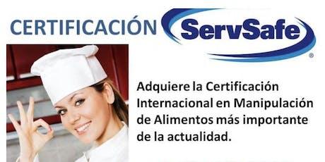 ServeSafe en Español  tickets