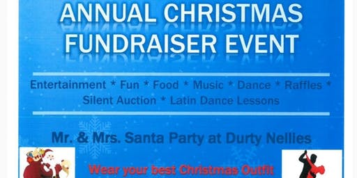 Mr & Mrs Claus Annual Christmas Fundraising Party