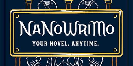 NaNoWriMo Rockdale Library Write In tickets