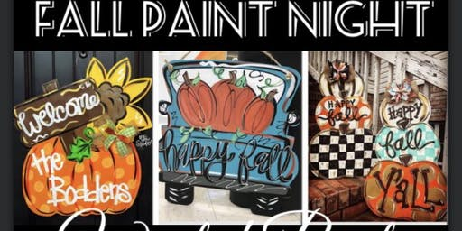 Fall Paint Night