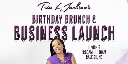 Teta L. Jackson's Birthday Brunch and Business Launch