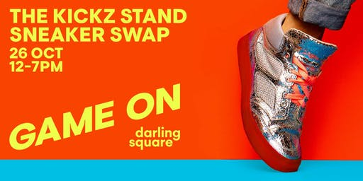 The Kickz Stand Sneaker Swap